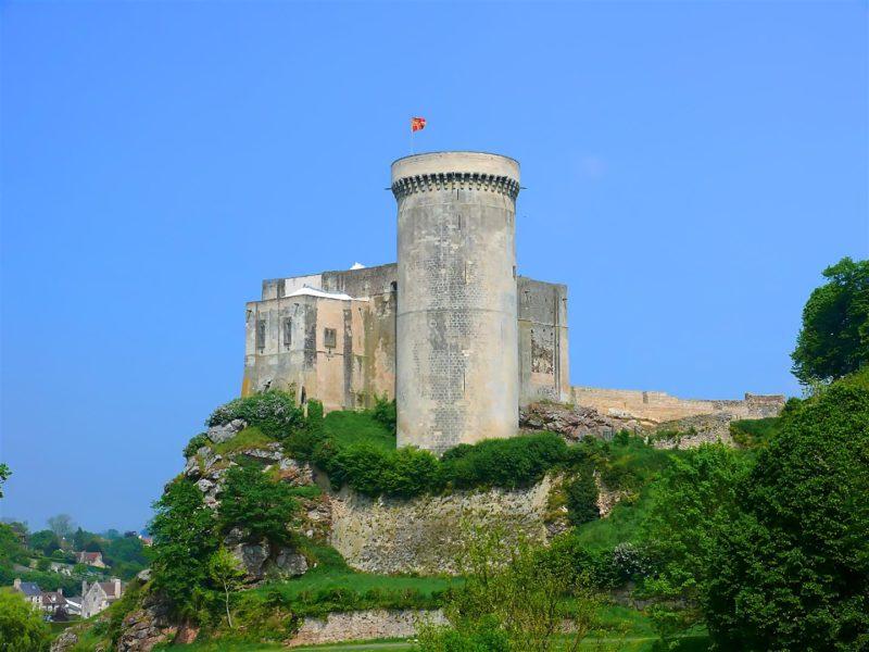 Falaise château