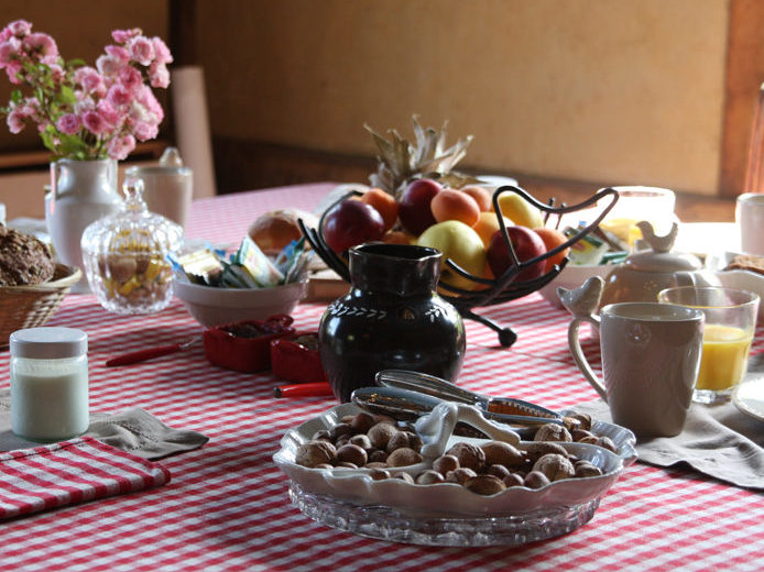 Petit déjeuner manoir de Pontfol