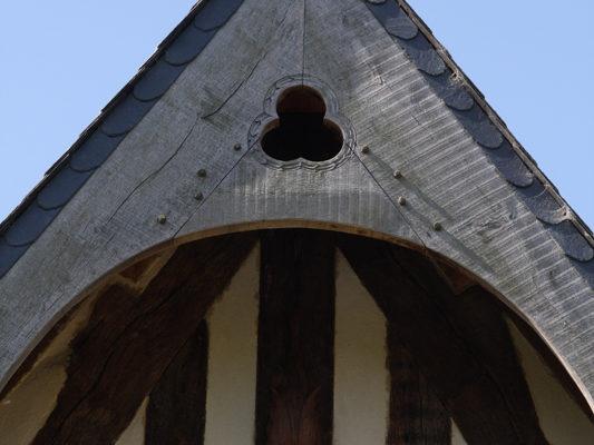Lucarne manoir de Pontfol